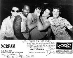 Scream 1988 Wth Dave Grohl